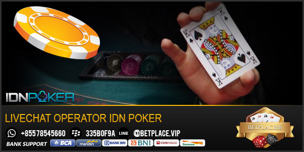 Livechat-Operator-Idn-Poker